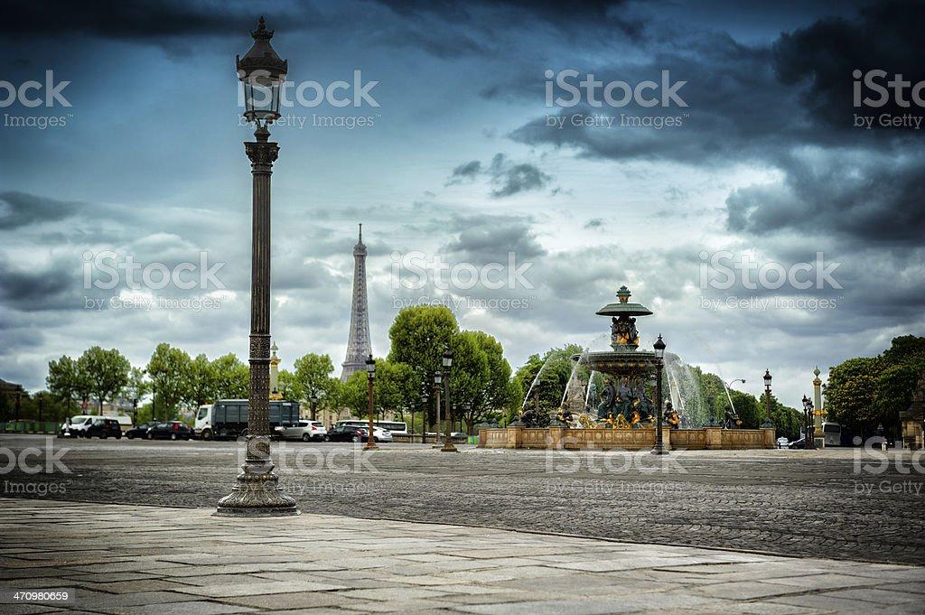 Place de la Concorde. Paris, France stock photo
