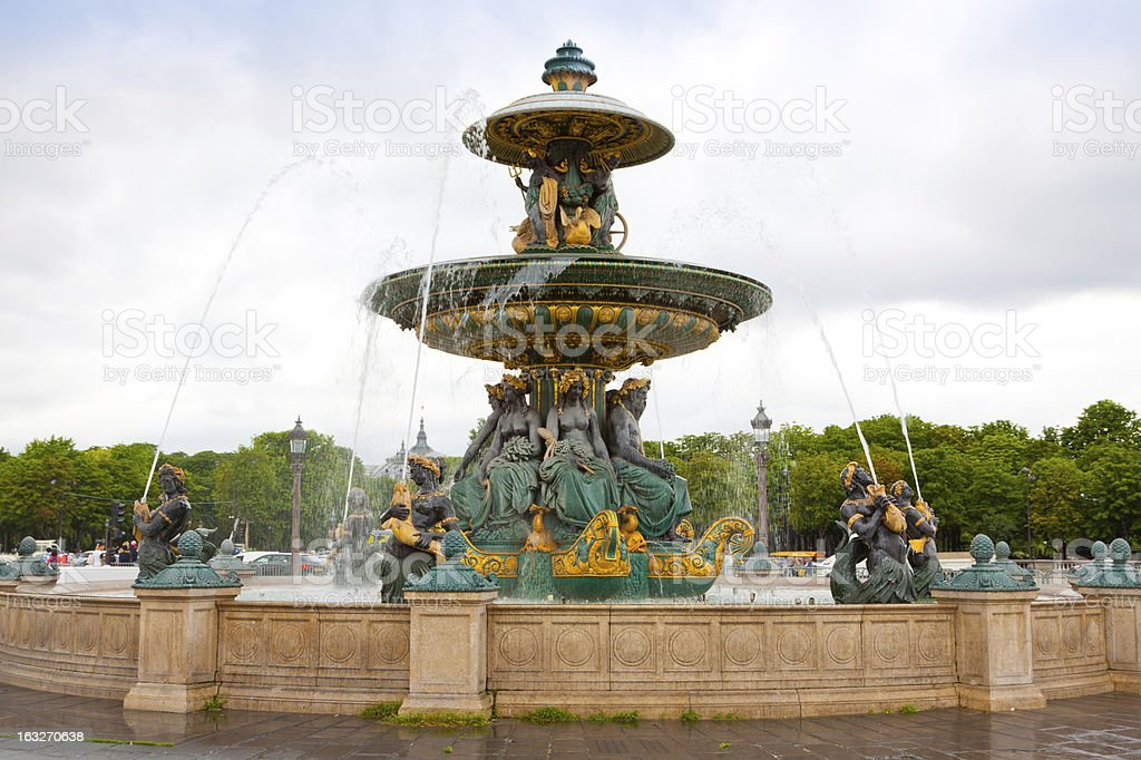 Place de la Concorde, Paris. royalty-free stock photo