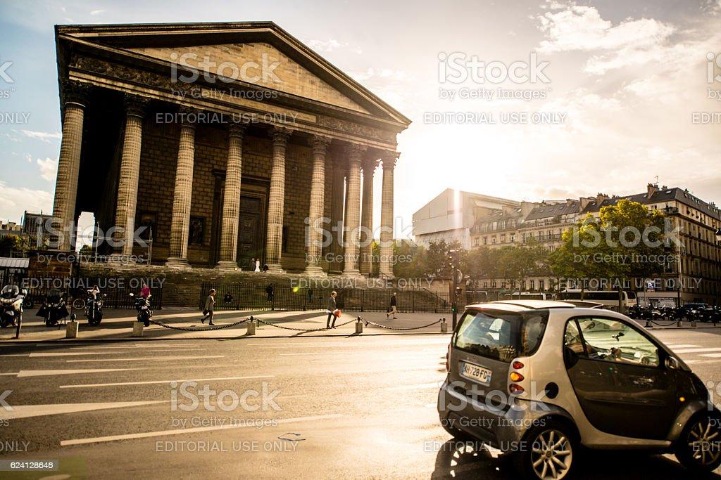 Place de la Madeleine, Paris, France stock photo