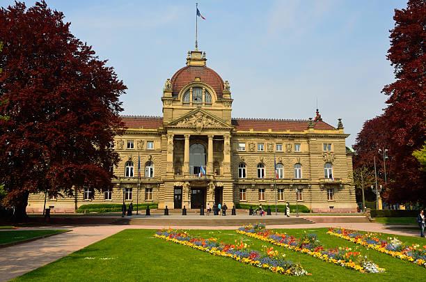 place de la république en estrasburgo - république photos et images de collection