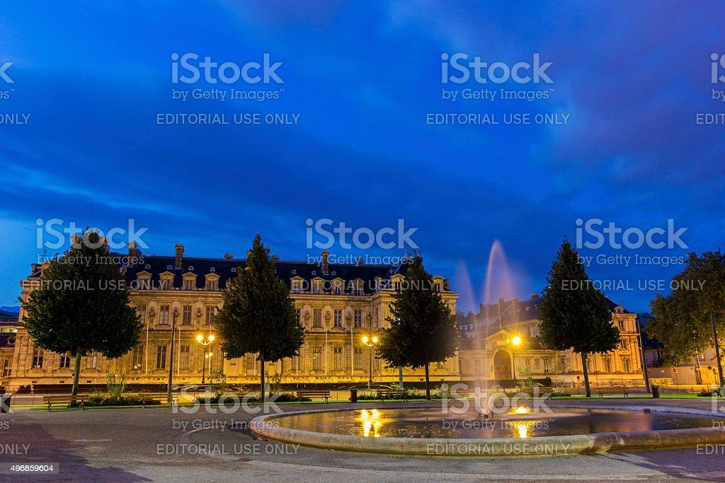 Place de Verdun in Grenoble, France stock photo