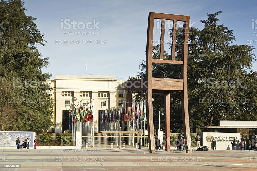 Place Des Nations royalty-free stock photo