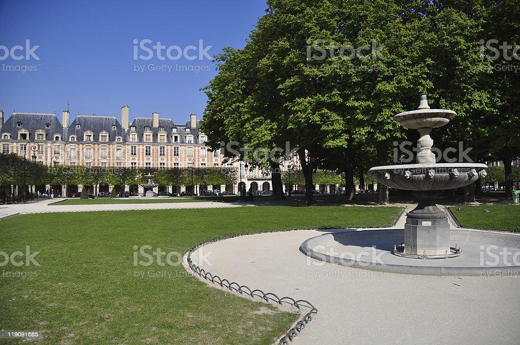 Place des Vosges stock photo