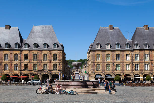 Place Ducale in Charleville-Mézières stock photo