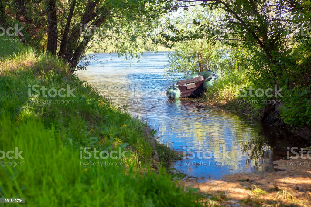 place for fishing royalty-free stock photo
