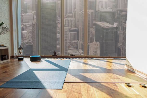 place for meditation and relaxation - carpet runner stock photos and pictures