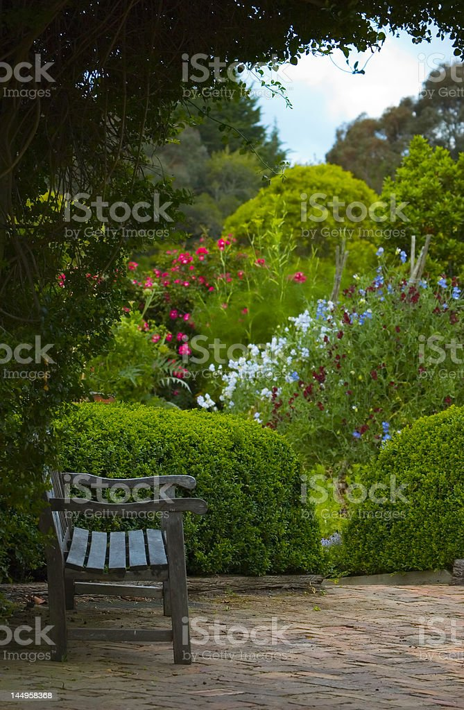 Place for meditation royalty-free stock photo