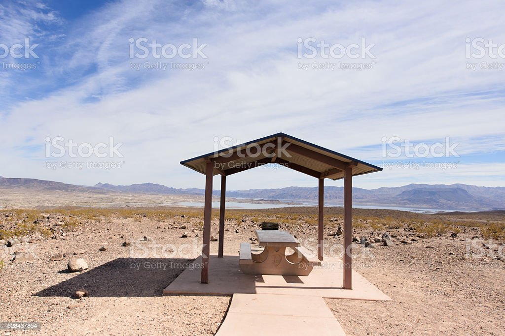 place for relax at the beautiful view stock photo