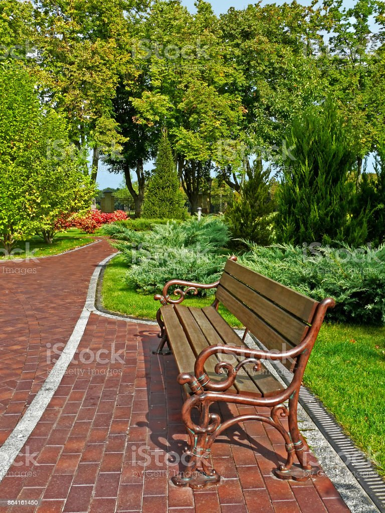 Place for relaxation royalty-free stock photo