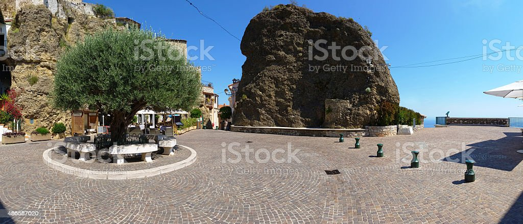 Place in Roquebrune-Cap-Martin stock photo