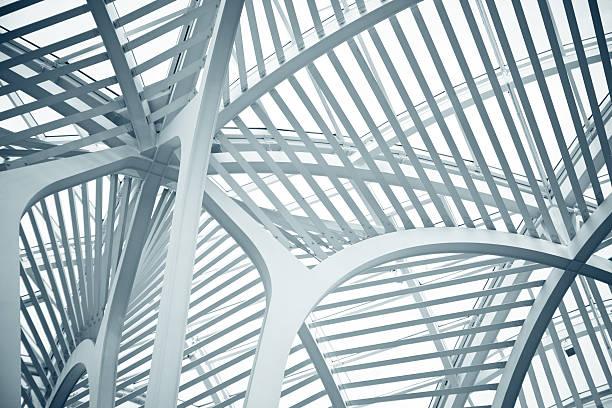 bce place  in toronto - boog architectonisch element stockfoto's en -beelden