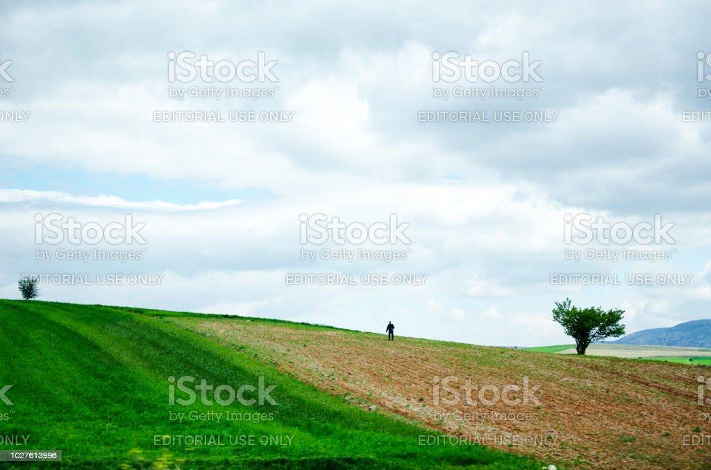 21.04.2018 placer Isparta agricole homme fertilisation homme - Photo