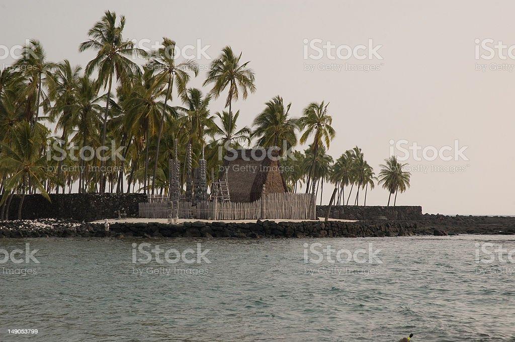 Place of Refuge stock photo
