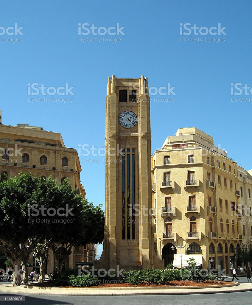 Place de l'horloge stock photo