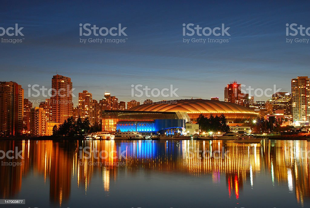 BC Place royalty-free stock photo