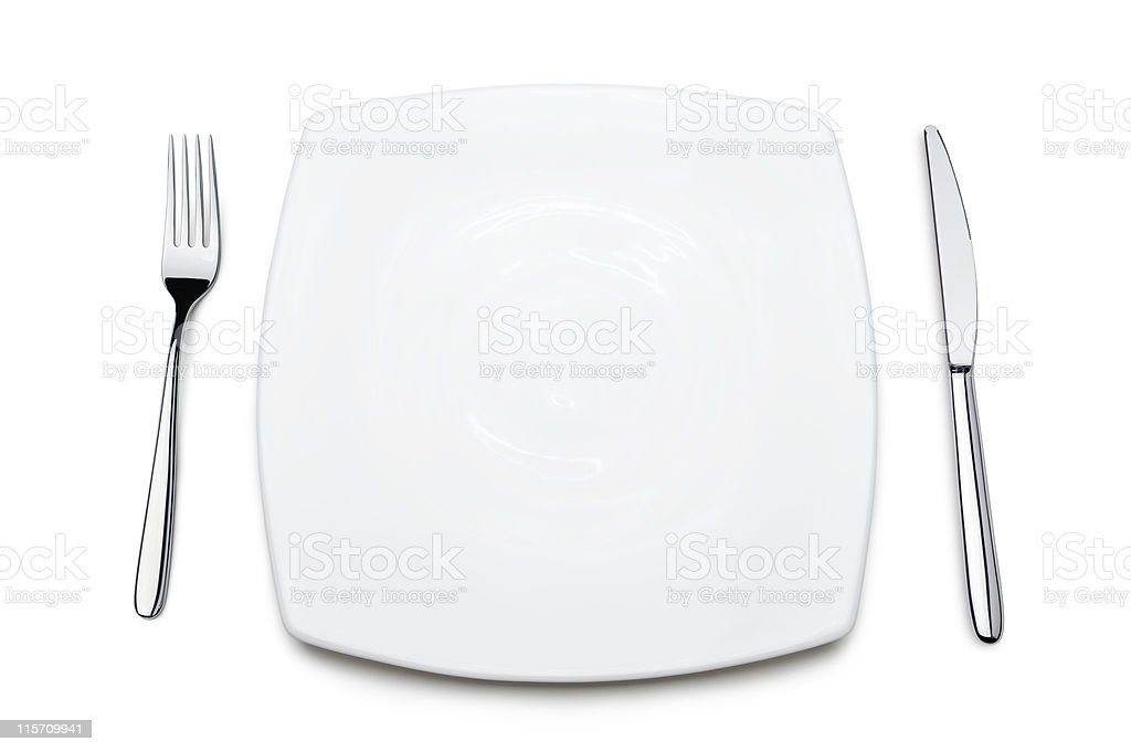 place setting stock photo