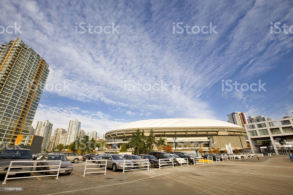 BC Place Stadium Vancouver royalty-free stock photo