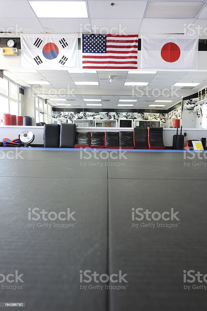 Place to train stock photo