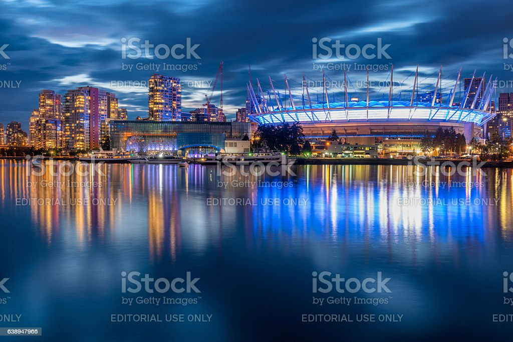 BC Place, Vancouver, Canada stock photo