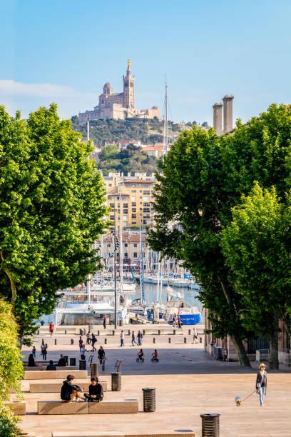 Place Villeneuve-Bargemon in Marseille, France. - Photo