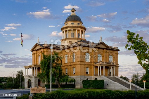 Placer County Courthouse building.