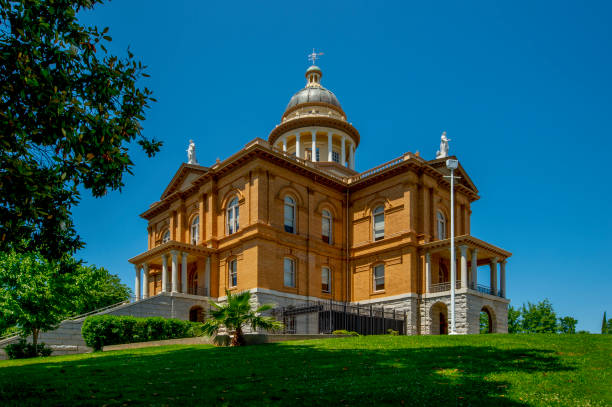 Placer County Courthouse, Auburn, CA stock photo