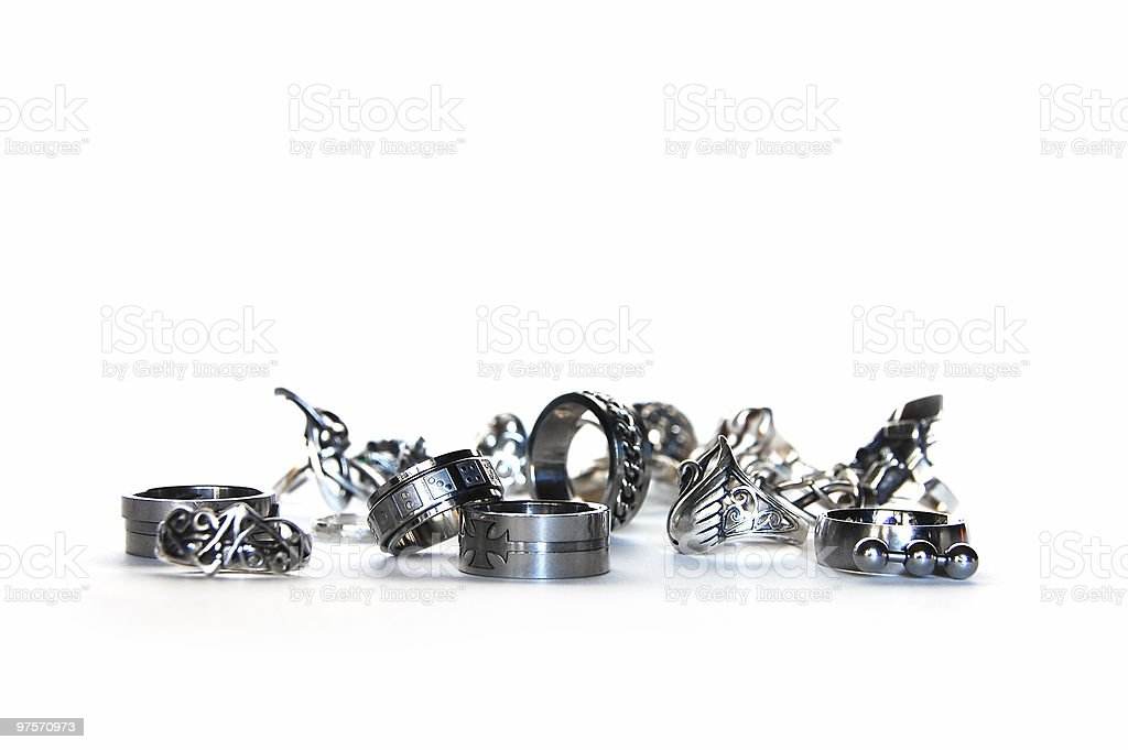 Placer of Rings royalty-free stock photo