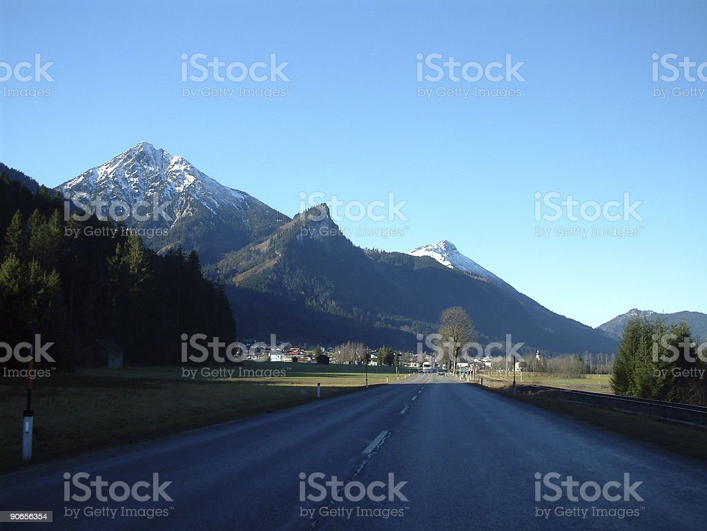 Places - Austria, Flat before the Hight #2 royalty-free stock photo