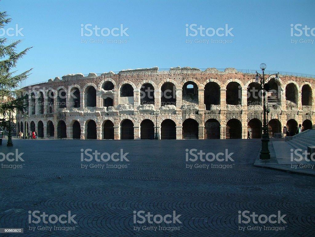 Luoghi-Italia, Arena di Verona#2 - foto stock