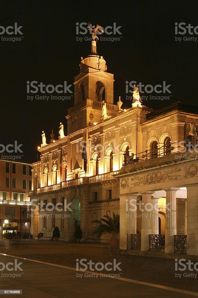 Places - Italy, Padova, Palazzo della Ragione stock photo