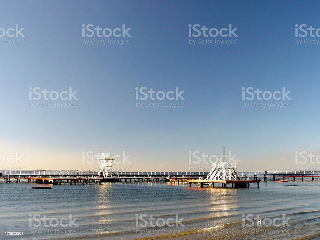 Places: ocean. stock photo