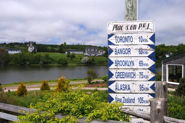 places on pei - prince edward island stock photos and pictures