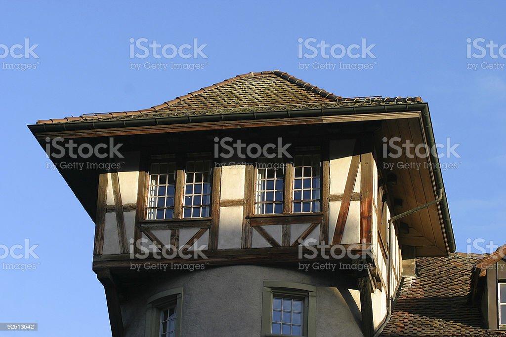 Places - Switzerland, Bern, Tower royalty-free stock photo