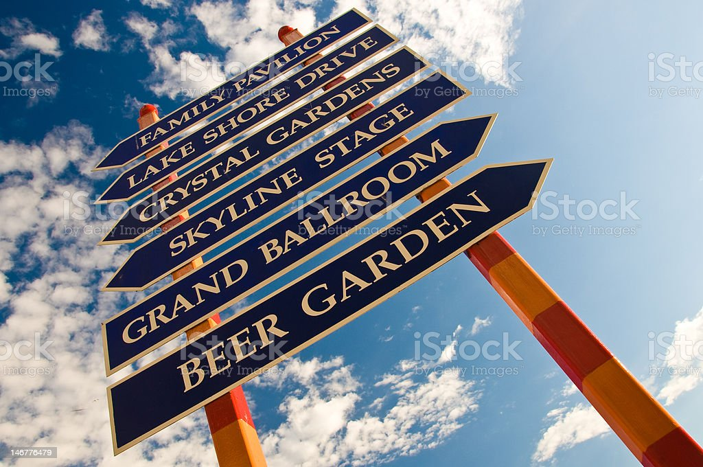 Places To Go stock photo