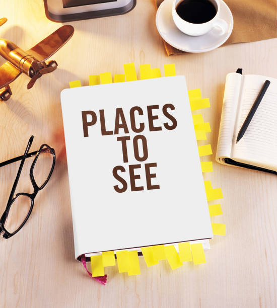 Places to see stock photo