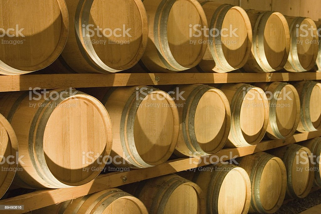 Places - Wine Cellar stock photo