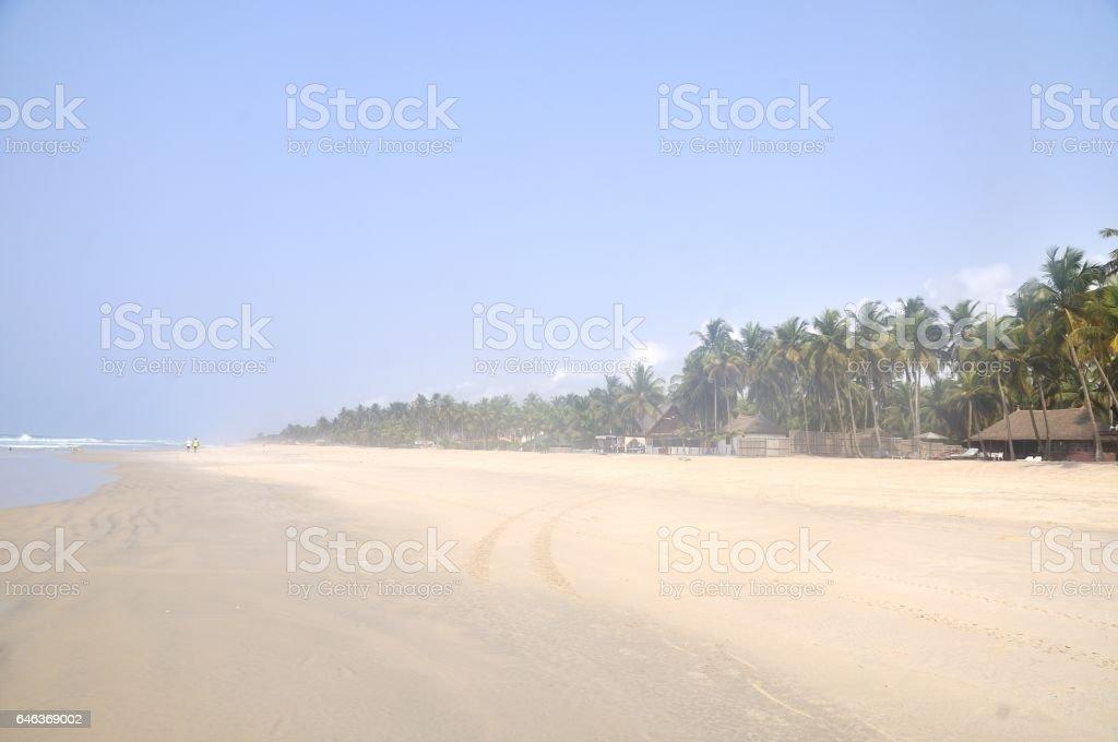Plage d'Assinie, Côte d'Ivoire stock photo