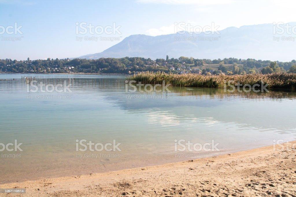 De la plage du Lac du Bourget - Photo
