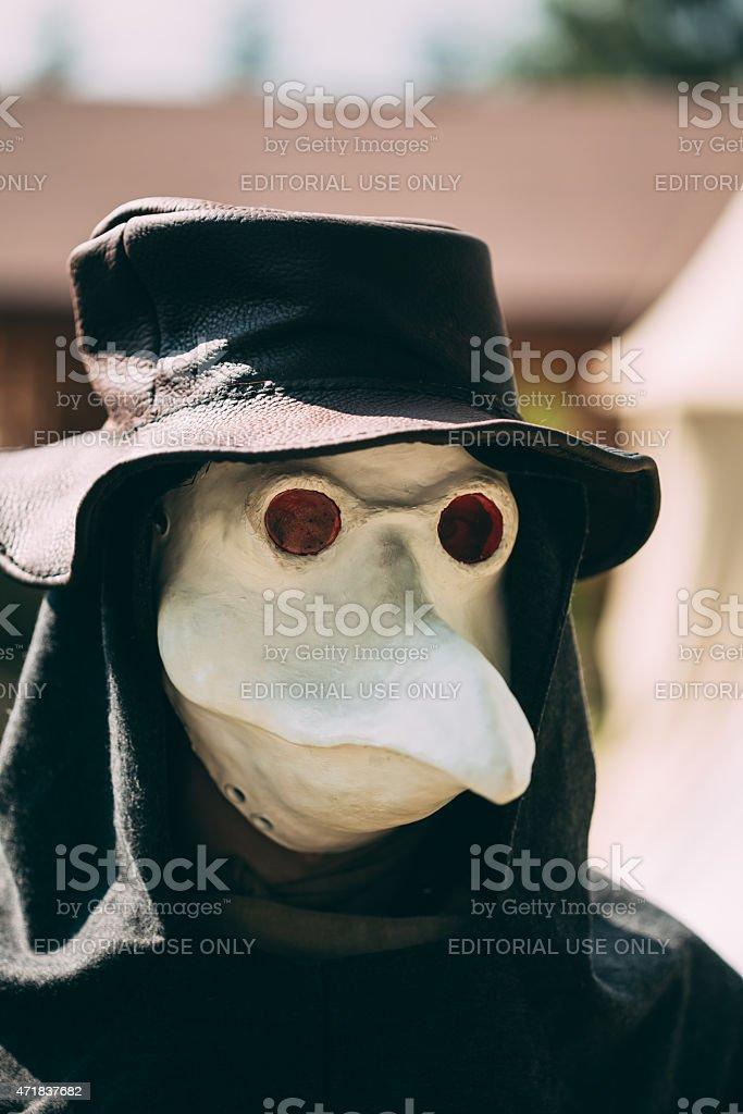 Pest Arzt-Teilnehmer des Festivals der mittelalterlichen Kultur – Foto