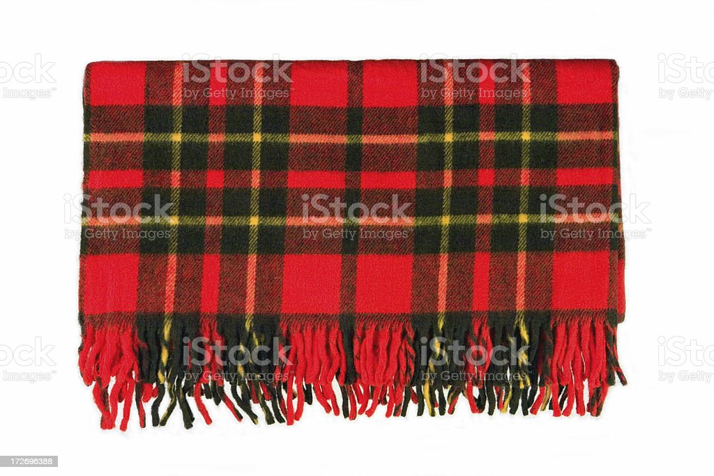 Plaid Blanket stock photo