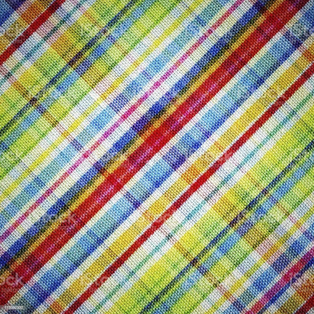 Plaid fabric background stock photo