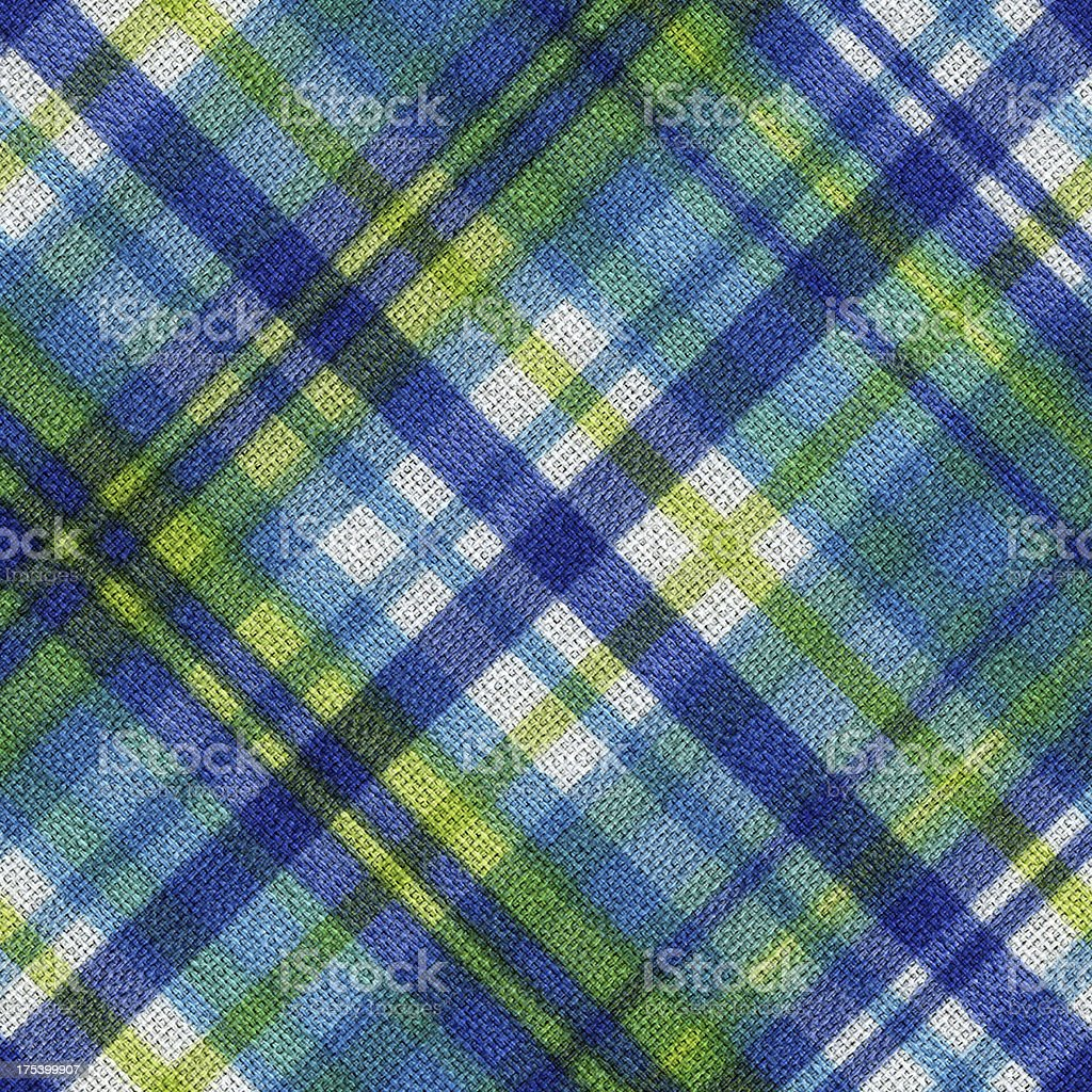Plaid fabric background textured stock photo