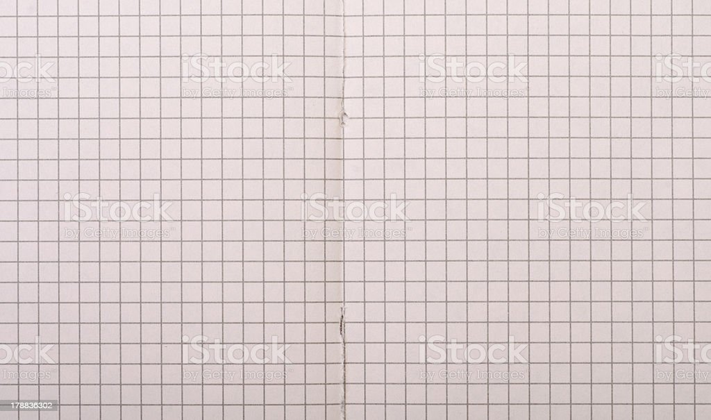 plaid paper for notes royalty-free stock photo