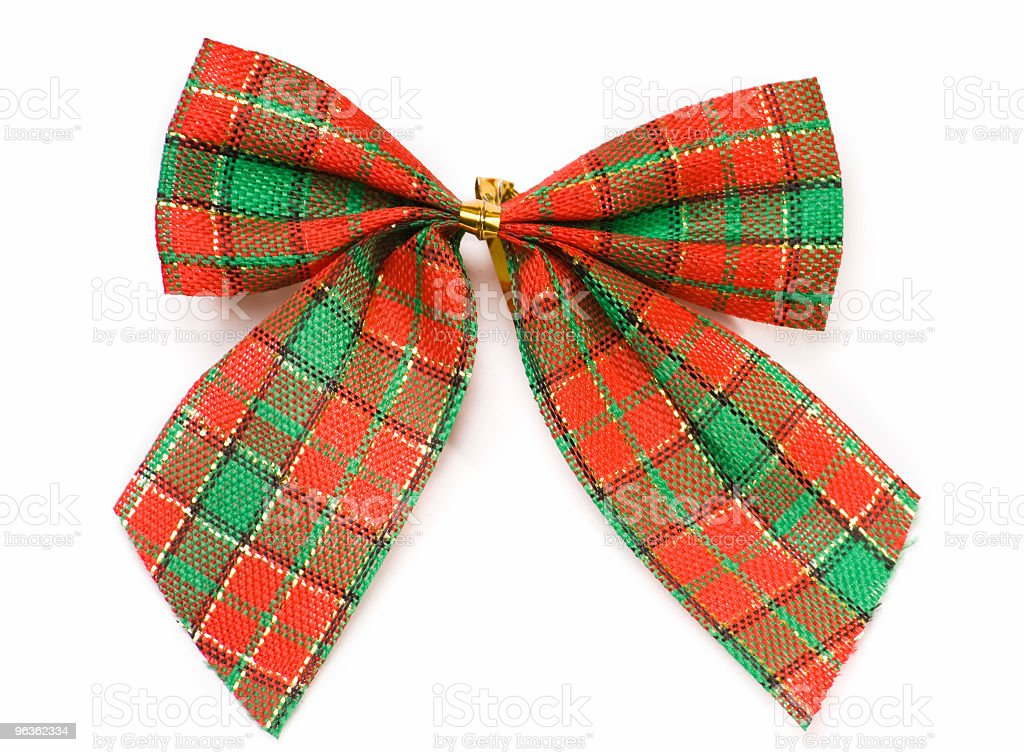 Plaid Ribbon royalty-free stock photo