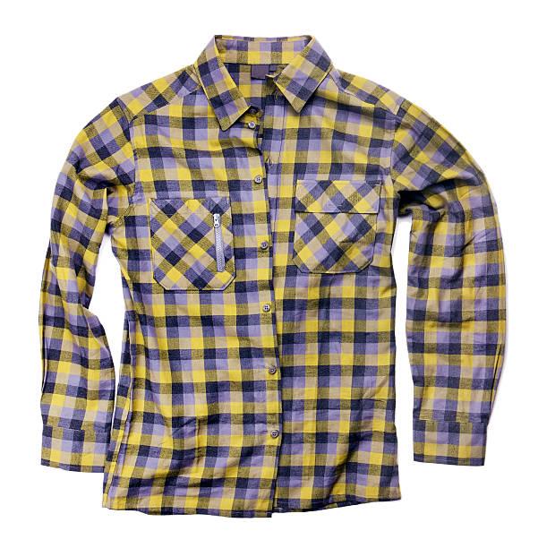 plaid shirt isolated on white plaid shirt isolated on white plaid shirt stock pictures, royalty-free photos & images
