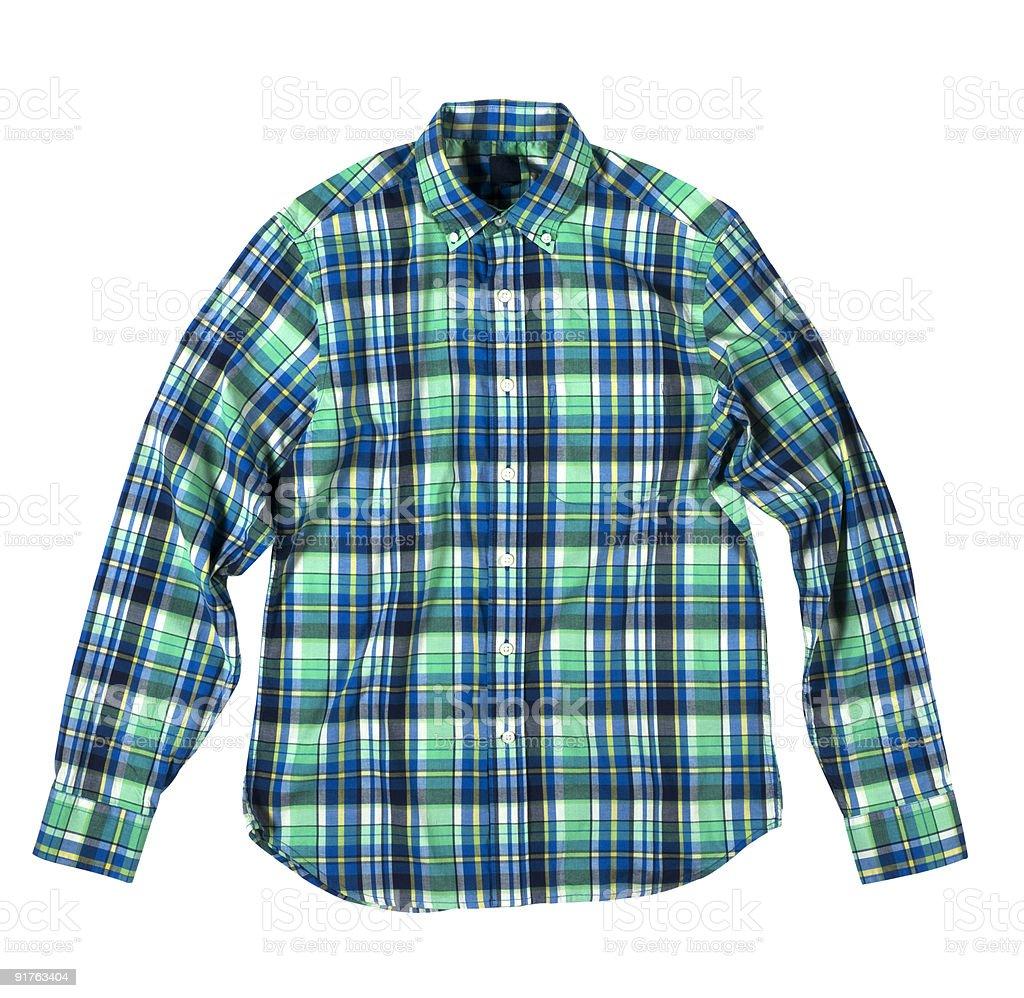 Plaid Shirt stock photo