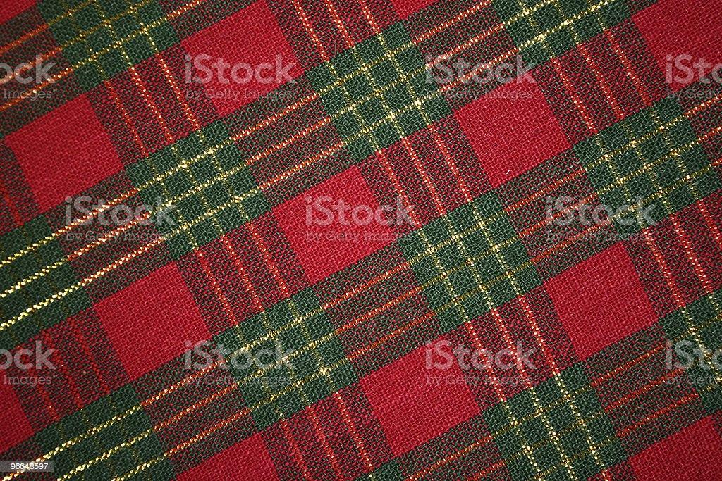 Plaid Textures royalty-free stock photo