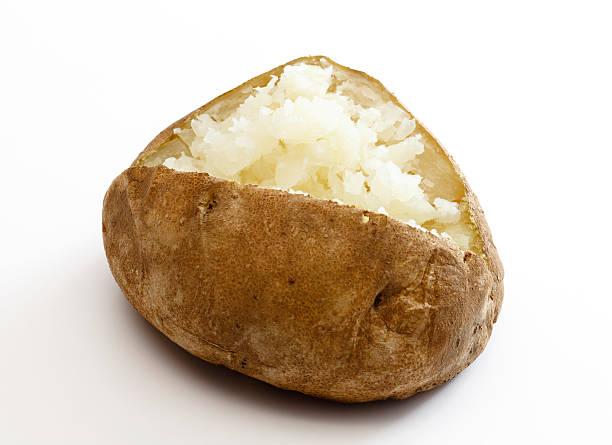Plain batata assada (sem coberturas - foto de acervo