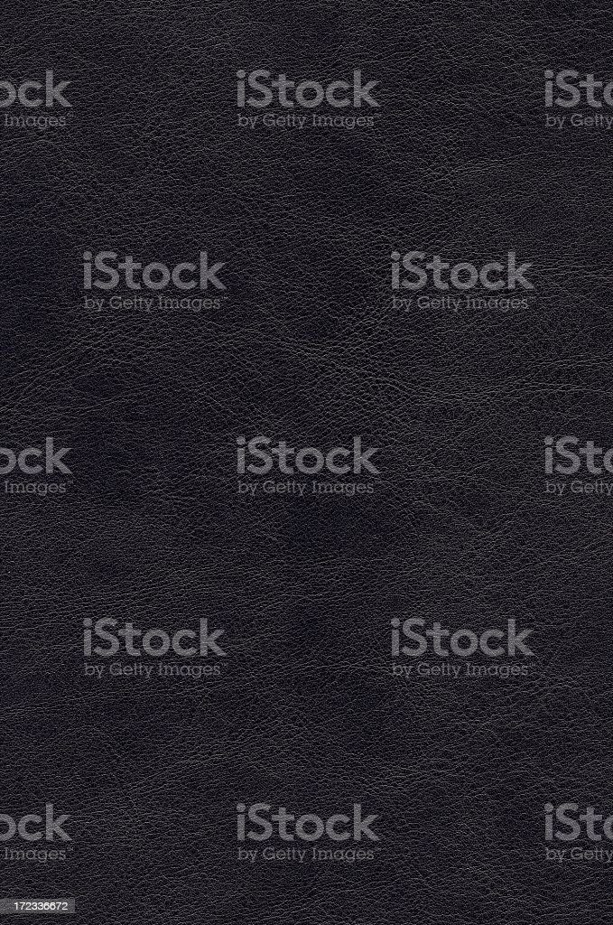 Plain black leather background royalty-free stock photo