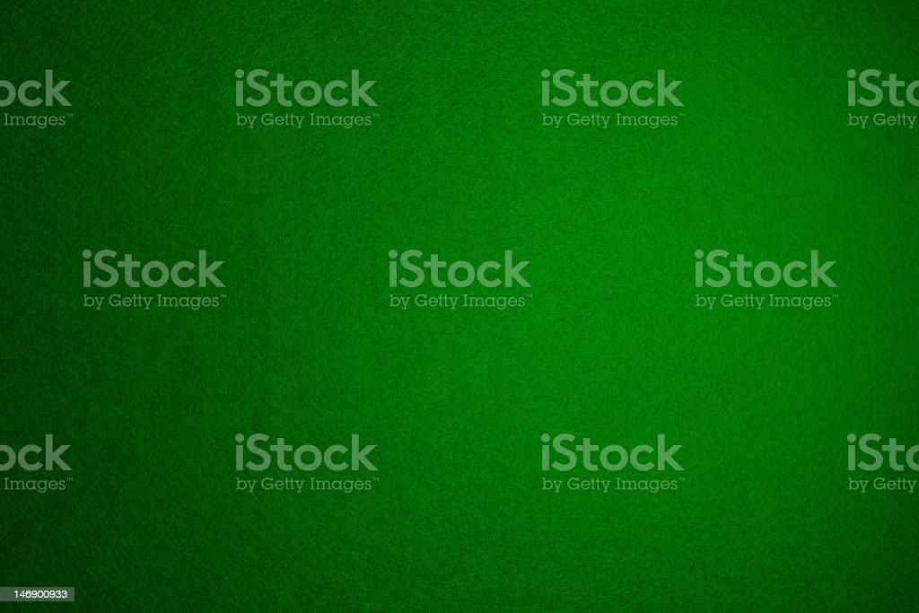 Plain blank green felt background stock photo